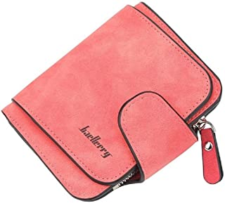 Baellirry Wallet Woman Card Holder Clutch Casual Red
