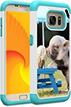 Galaxy S7 Case, Skyfree Shockproof Heavy Duty Protection Hard PC & Soft TPU Hybrid Dual Layer Protective Phone Case for Samsung Galaxy S7 (5.1