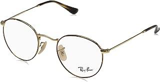 Ray-Ban Men's RX3447V Round Metal Eyeglasses