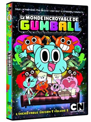 Le Monde Incroyable Gumball, Saison 1, Vol. 1 [Edizione: Francia]