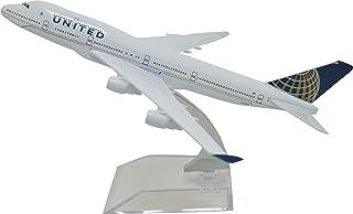 TANG DYNASTY 1/400 16cm ユナイテッド航空 United Airlines ボーイング B747 高品質合金飛行機プレーン模型 おもちゃ