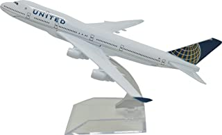 TANG DYNASTY(TM) 1:400 16cm Boeing B747-400 United Airline Metal Airplane Model Plane Toy Plane Model