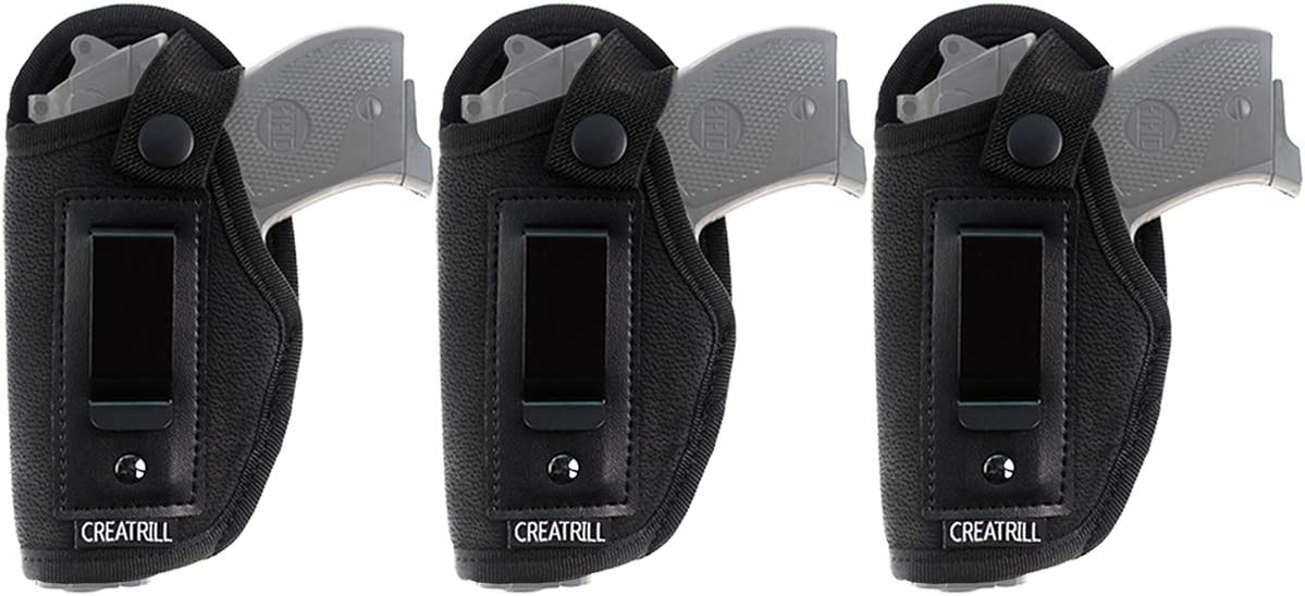 CREATRILL 3 Cheap sale Pack IWB Gun Holster Wai Concealed Carry Excellent Inside for