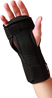 Best AidBrace Night Wrist Sleep Support Brace - Fits Both Hands - Cushioned to Help With Carpal Tunnel and Relieve and Treat Wrist Pain - Adjustable Review