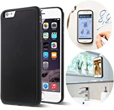 CloudValley iPhone 6 Case/iPhone 6s Case, Anti Gravity Phone Case Magical Nano Can Stick to Glass, Whiteboards, Tile and Smooth Flat Surfaces for Apple iPhone 6 (2014) / iPhone 6s (2015) [Black]