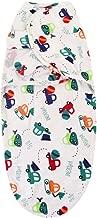 حقيبة نوم للأطفال من Sunbona لحديثي الولادة، مجموعة ملابس نوم للأطفال حديثي الولادة من الأولاد والبنات مطبوع عليها نقشة ملفوفة  One Size