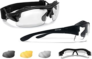 cycling glasses with prescription insert