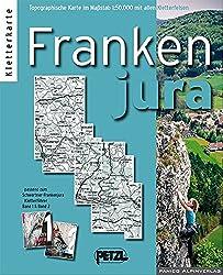 Kletterkarte Frankenjura (Fränkische Schweiz)