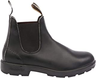 Luxury Fashion | Blundstone Men BCCAL0012510 Black Leather Ankle Boots | Spring-summer 20