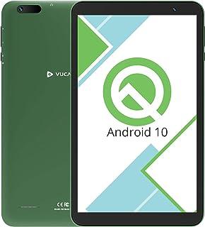 【2020最新 Android10.0 Goモデル】VUCATIMES タブレット8インチ - WiFiモデル 32GB /Bluetooth/子供にも適当 携帯便利 日本語説明書/N8(グリーン)