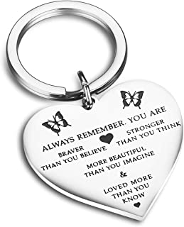 Stainless Steel Pendant Always Remember You are Braver Than You Believe Inspirational Letters Engraved Charm Necklace