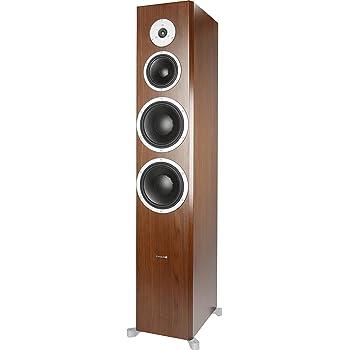 DYNAUDIO Excite X44 Floorstanding Loudspeaker Walnut Satin (Pair)