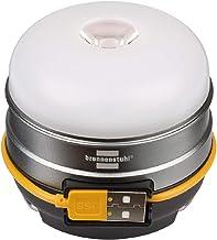 Brennenstuhl Batterij LED outdoor lamp OLI 0300 A (campinglamp voor buiten 350lm / campinglamp met tot 70h brandduur, lamp...