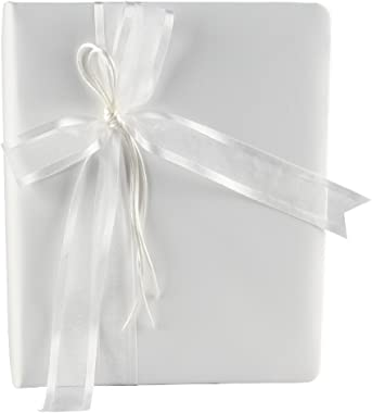 Ivy Lane Design Simplicity Wedding Memory Book, Ivory