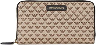 Luxury Fashion | Emporio Armani Womens Y3H010YFH1A88407 Beige Wallet | Fall Winter 19