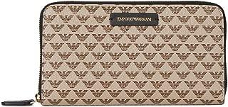 Luxury Fashion | Emporio Armani Womens Y3H010YFH1A88407 Beige Wallet | Fall Winter 19