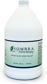 Sombra Warm Therapy Natural Pain Relieving Gel, One Gallon, 128-Ounce by Sombra, Red-88889966