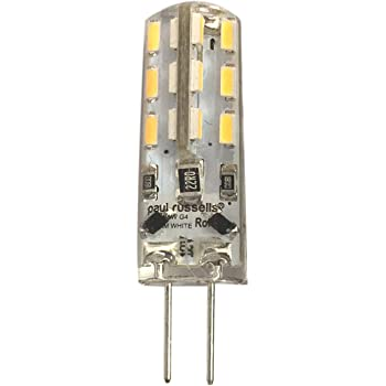 1.5w G4 low energy LED capsule (white
