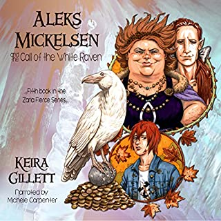 Aleks Mickelsen and the Call of the White Raven audiobook cover art