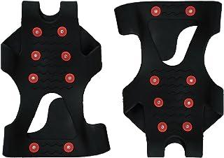 ThunderBay Unisex Winter Snow Ice Treads Non Slip Grip Cleats, Women Sizes 8-10 Mens' Size 7-9