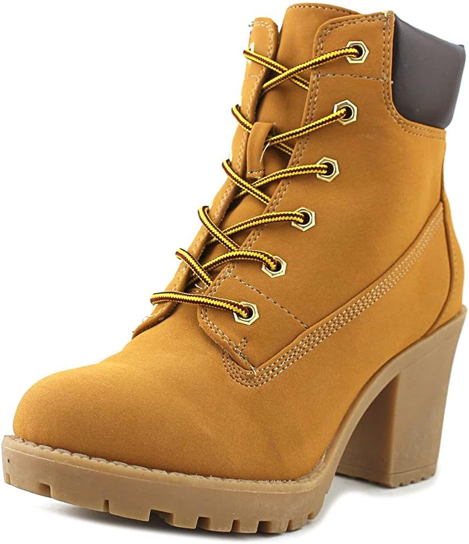 Zigi soho Womens Kiana Closed Toe Ankle Fashion Boots, Wheat Brown, Size 6.5