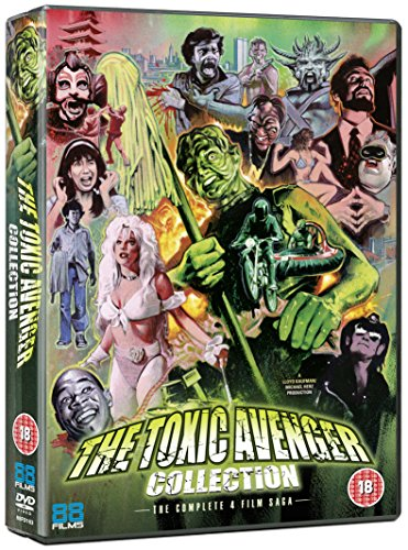 The Toxic Avenger Collection Dvd