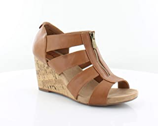 Style & Co. Womens Fetteep Open Toe Wedge Pumps US