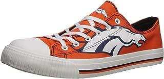 FOCO NFL Mens Low Top Big Logo Canvas Shoes