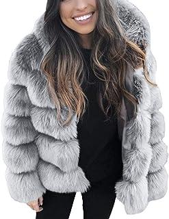 a0dae6cdbe473d BaZhaHei Giacca Donna,Autunno Inverno Cappotti di Visone da Donna Cappotti  Invernali di Nuova Giacca