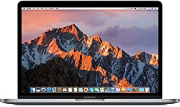 Apple 13in MacBook Pro, Retina, Touch Bar, 3.1GHz Intel Core i5 Dual Core, 8GB RAM, 256GB SSD, Space Gray, MPXV2LL/A (Renewed)