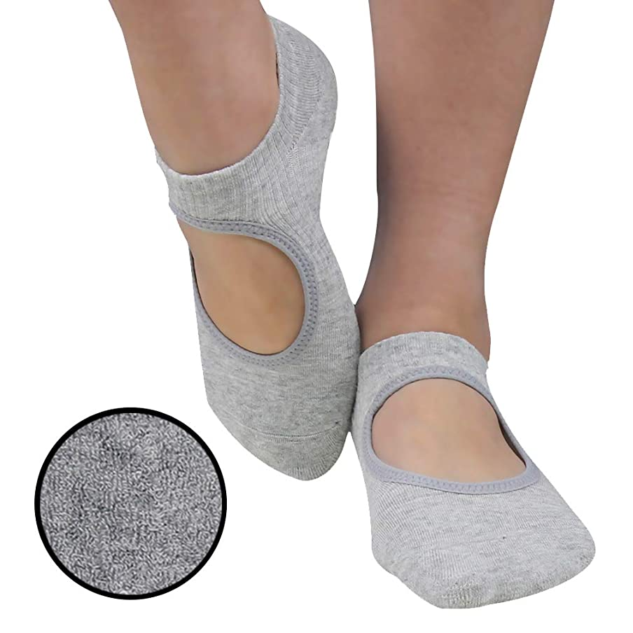 Yoga Socks, Gmall Non Slip Skid Grip Pilates Cotton Ankle Socks Women&Girls