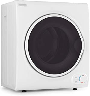 Klarstein Jet Set 4000 - Secadora de ropa, Carga frontal, Potencia 1400 W, Independiente, EEC C, 4 kg, Resistencia de PTC,...