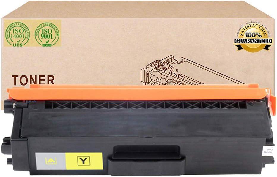 Compatible Toner Cartridges Replacement for Brother TN376 TN379 Toner Cartridge for Brother HL-L8250CDN L8350CDW L8350CDWT L8650CDW DCP-L8400CDN MFC-L8650CDW Printer Toner,Yellow