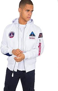 ALPHA INDUSTRIES MA-1 TT Hood NASA Uomo