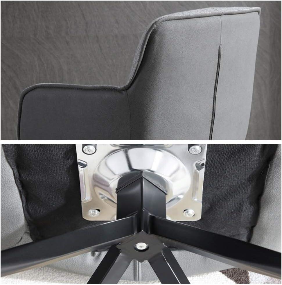 Fauteuil de salon avec fauteuil rembourré, chaise moderne avec pieds en acier, fauteuil de repos confortable for chambre familiale ou fauteuil de bureau (Color : Orange) Orange