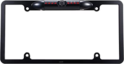 DALLUX Car License Plate Frame Rearview Backup Camera, Reverse Camera with Night Vision..