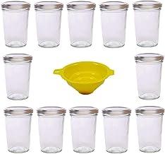 60 Mini Vasetti Monodose in Vetro da 30 ml con Tappi Confetti Zafferano Pesto Ideali per Marmellata Bomboniere Chutney