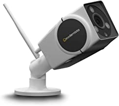 Modernista RuggCam 100-2.0 MP Wireless Outdoor Security Camera with IR Night Vision (White) | 2.0 MP Resolution with Micro SD Card Support Upto 128GB | Weatherproof with Night Vision (White)