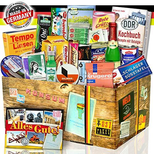 Ost Paket mit DDR Spezialitäten / DDR Geschenkideen für Männer