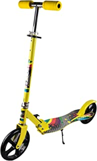 COOLBABY Scooters for adult/kids - Large 180mm Wheels, Foldable, Adjustable Handlebars, Lightweight, for Riders up to 220 lbs