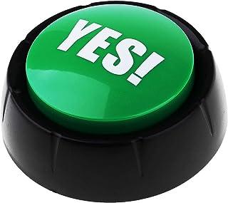B Baosity 学習リソース ドーム型 サウンドボタン ゲーム 応答ブザー 全4色 - 緑
