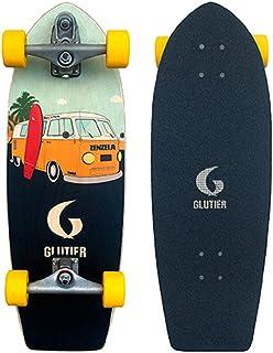 Glutier Surfskate with T12 Surf Skate Trucks. Zenz...
