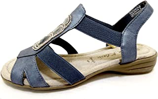 JANE KLAIN 282279 Womens Sandals Blue