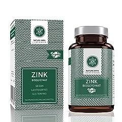 Zink tabletter hög dose25mg | bästa biotillgängligheten | 365 st per år | Tillverkad i Tyskland | Vegansk | Utan tillsatser och konserveringsmedel | Laboratorietestade