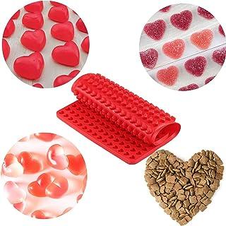 C100AE Tapis de cuisson en silicone, 1,5 cm, moule en silicone, moule 255 pour biscuits pour chien et friandises, papier d...