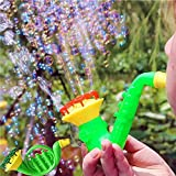 ANAGFEOL Jouet Water Blowing Toys Bubble Soap Bubble Blower Outdoor Kids Child Toys Personnalisé IdéE Cadeau