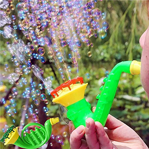 Voberry Bubble Machine, Premium Quality Water Blowing Toys Bubble Soap Bubble Blower Outdoor Kids Child Toys-Color Random,Best Gift Toy for 1 2 3 4 5 6 7 8 Years Old Baby Boy Girls Bubble Gun (Random)
