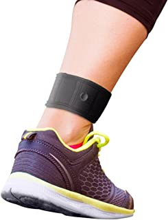 The Step Counter for use with Garmin & Fitbit Ankle Strap Ankle Band! Wear with Fitbit Flex 1/2, Fitbit One, Fitbit Alta/HR, Fitbit Charge HR 2, or Garmin Vivofit 1/2/3/JR.