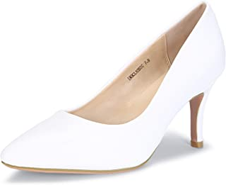 Women's IN3 Classic Closed Pointed Toe High Heels Wedding Party Dress Pumps Shoes