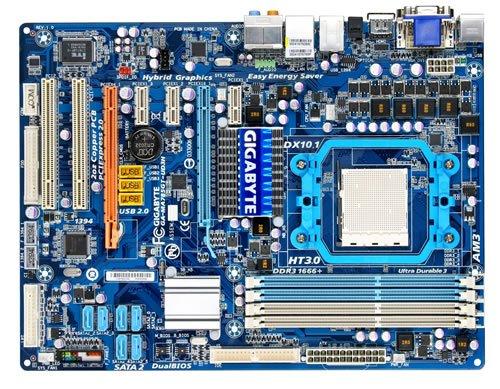 Gigabyte GA-MA785GT-UD3H Mainboard Sockel AMD AM3 785G+RS880 DDR3 Speicher ATX